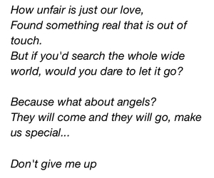 angel, birdy, and don't give up image