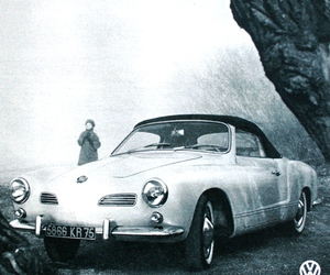 marie claire france, volkswagen karmann ghia, and november 1961 image