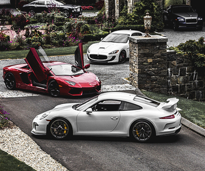 cars, luxury, and love image