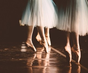 ballerina, skirt, and leg image