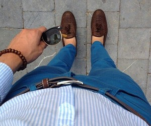 fashion, guy, and look image