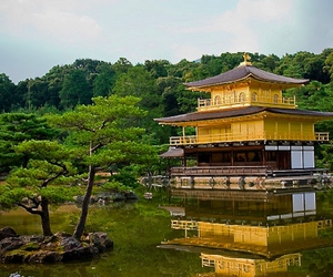 kyoto, Temple, and zen image