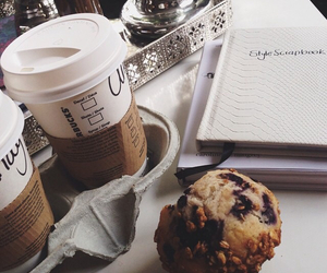 break, coffee, and muffin image