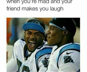 funny, friends, and laugh image