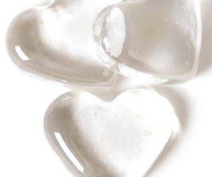 heart, hearts, and white image