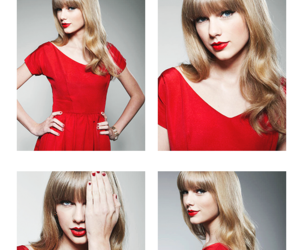 red and Taylor Swift image