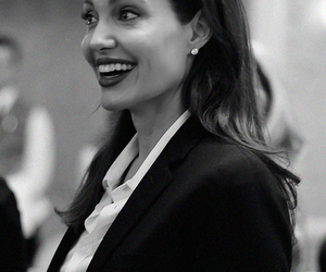 Angelina Jolie, beautiful, and smile image