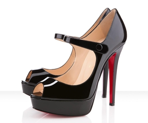 red bottom shoes image