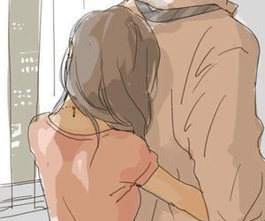 couple, love, and manga image