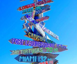 summer, travel, and Miami image