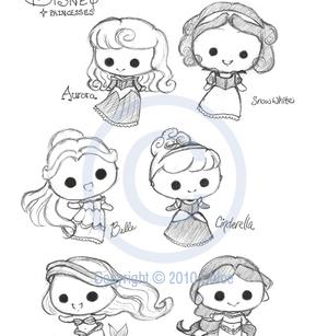 princess, chibi, and cinderella image