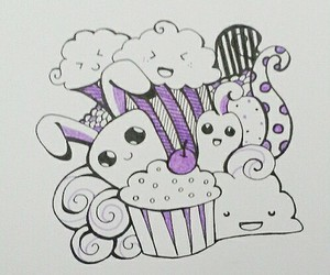 doodle and drawing image