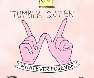 forever, pink, and Queen image