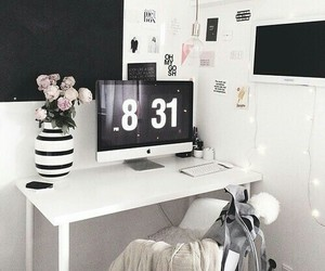 room, home, and white image