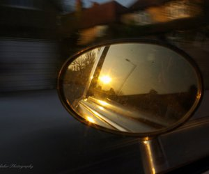 car, mirror, and photo image