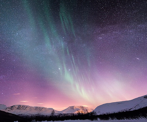 beautiful, night, and galaxy image