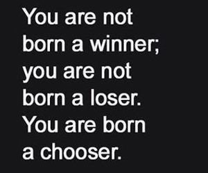 quotes, loser, and winner image