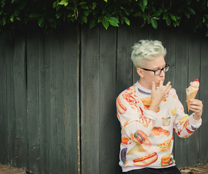 tyler oakley, youtuber, and food image