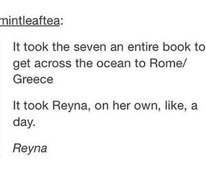 Reyna, percy jackson, and heroes of olympus image