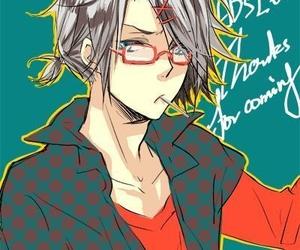 anime, boy, and katekyo hitman reborn image