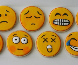 Cookies, emoji, and smile image