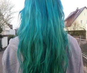 blue, hipster, and hair image