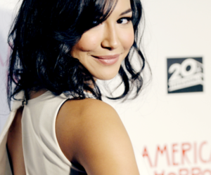 naya rivera, glee, and santana lopez image