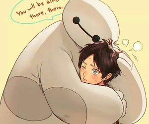 big hero 6 and attack on titan image