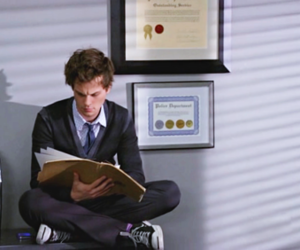 criminal minds, matthew gray gubler, and Reid image