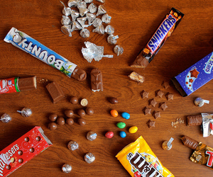chocolate, MM, and love image