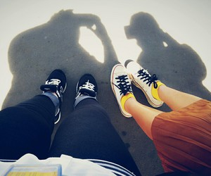 converse, shoes, and friends image