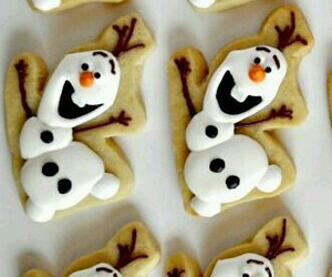 olaf, Cookies, and frozen image