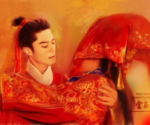 art, wallace huo, and perfect couple image