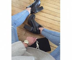 boots, girl, and luxury image