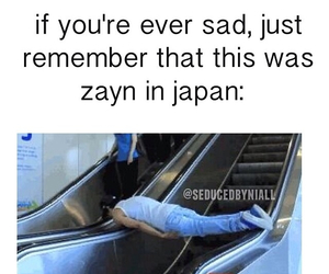 zayn malik, japan, and funny image
