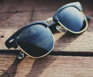 beach, style, and shades image