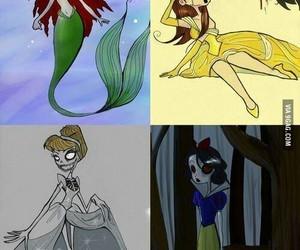 disney, princess, and tim burton image