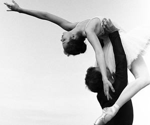 dance, ballet, and couple image
