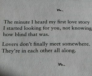 love, quote, and lovers image