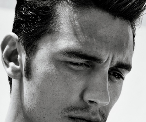 james franco, sexy, and black and white image