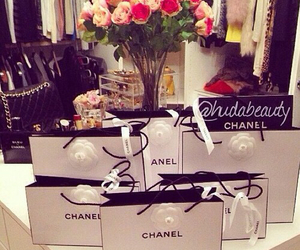 chanel, style, and flowers image