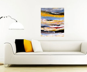 abstract, brown, and painting image
