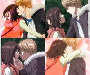 anime, couple, and shoujo image