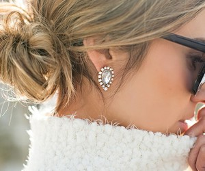 style, hair, and sunglasses image