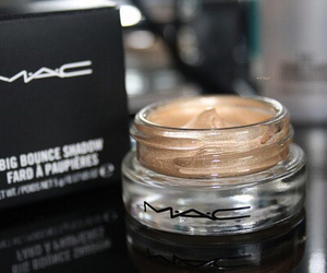 mac, makeup, and gold image