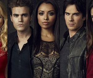 the vampire diaries, caroline, and tvd image