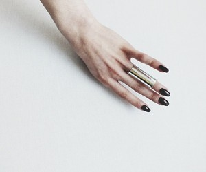 hand, fashion, and ring image