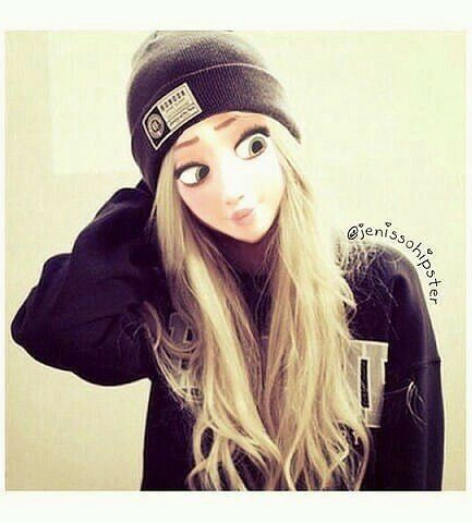 blonde, disney, and swag image