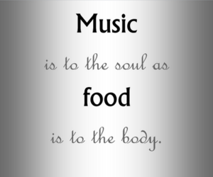 body, soul, and food image