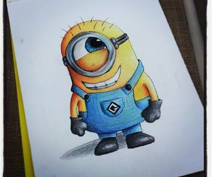 minions, drawing, and draw image